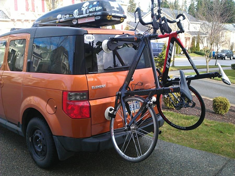 Honda Element Ecamper For Sale >> Seasucker Bike Rack - Honda Element Owners Club Forum