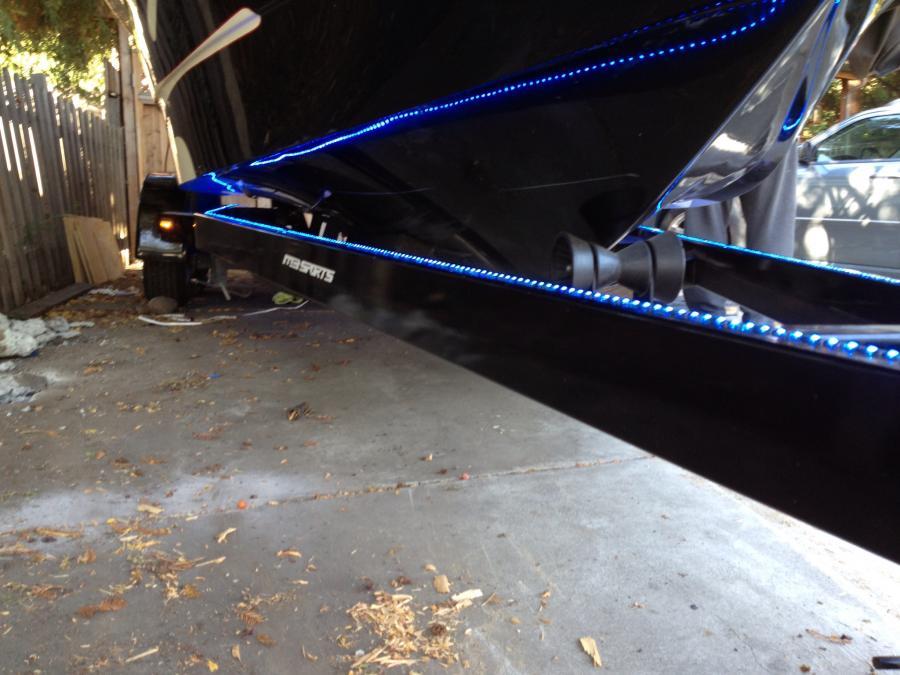 strip led runway lights for the trailer boats. Black Bedroom Furniture Sets. Home Design Ideas