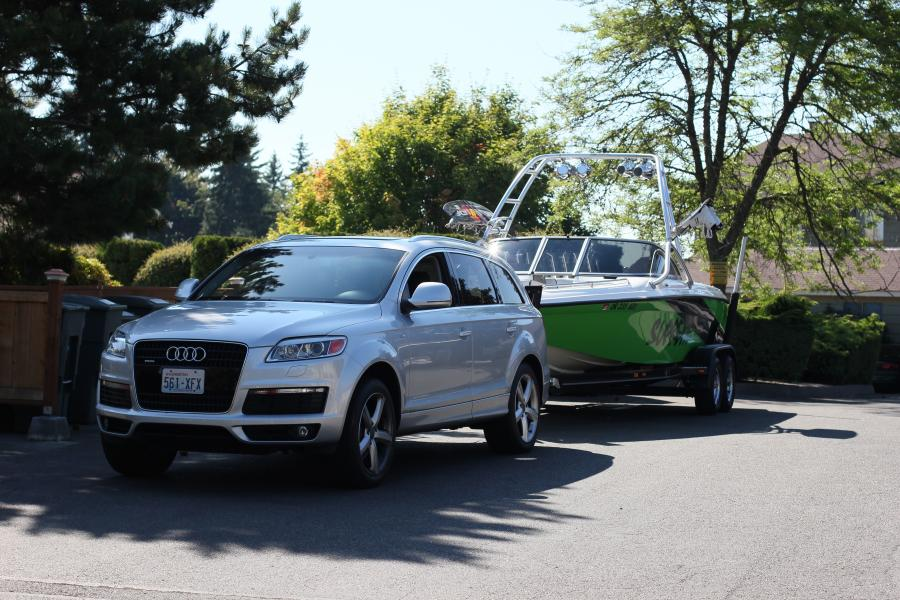 Anybody Tow With An Audi Q7 Boats Accessories Amp Tow