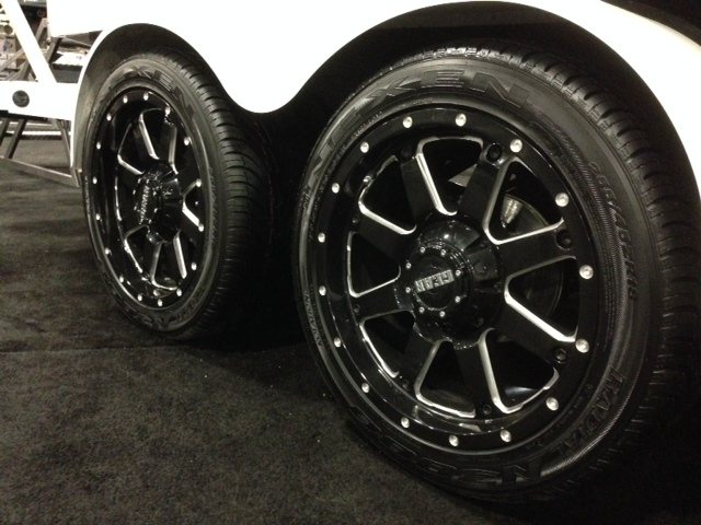 Boat Trailer Wheel And Tire Packages 18 S Vs 20 S What Are Y All