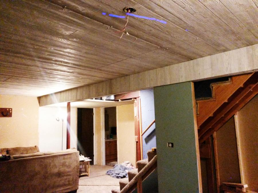 Painting Basement Ceiling Joists Mechanicals Non Wakeboarding Discussion