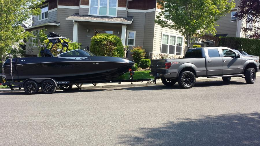 2015 Supra SC400 with the Raptor - Boats, Accessories & Tow