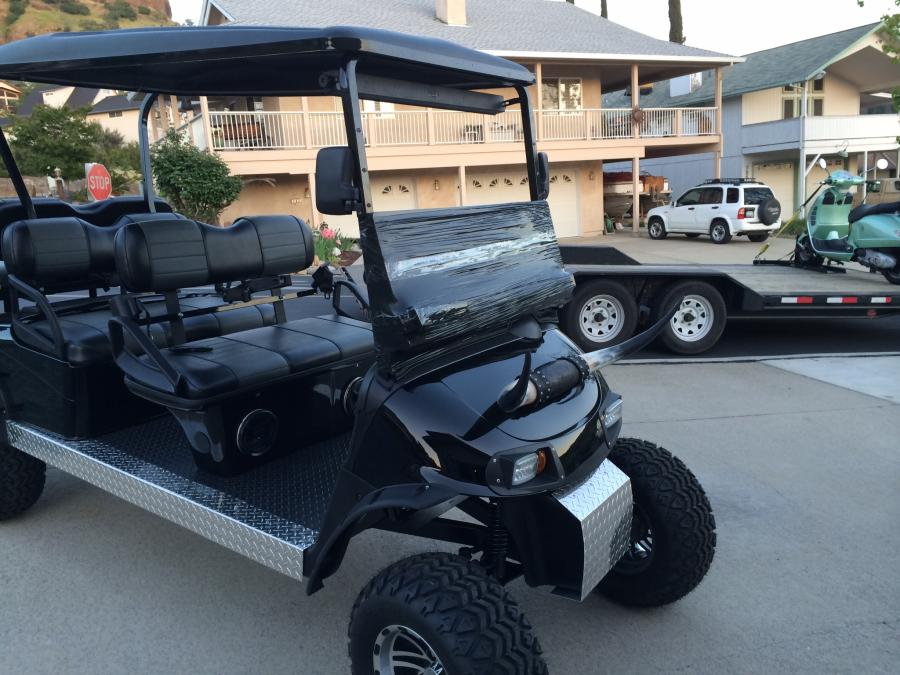 Lifted golf carts? - Boats, Accessories & Tow Vehicles on