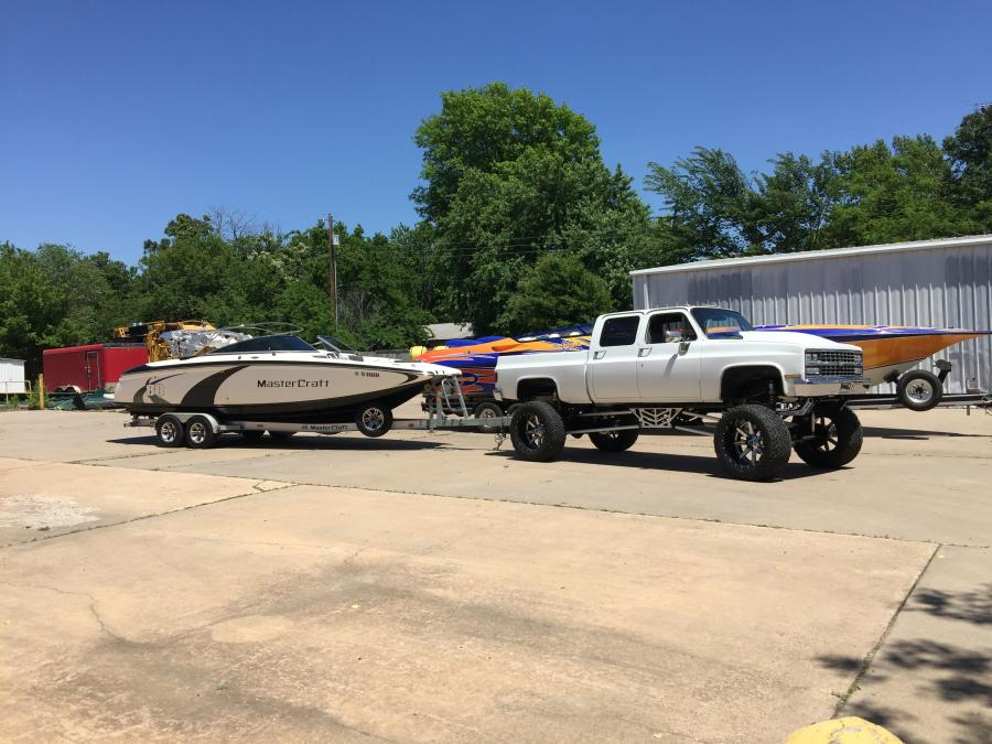 square body tow rig almost done boats accessories tow vehicles