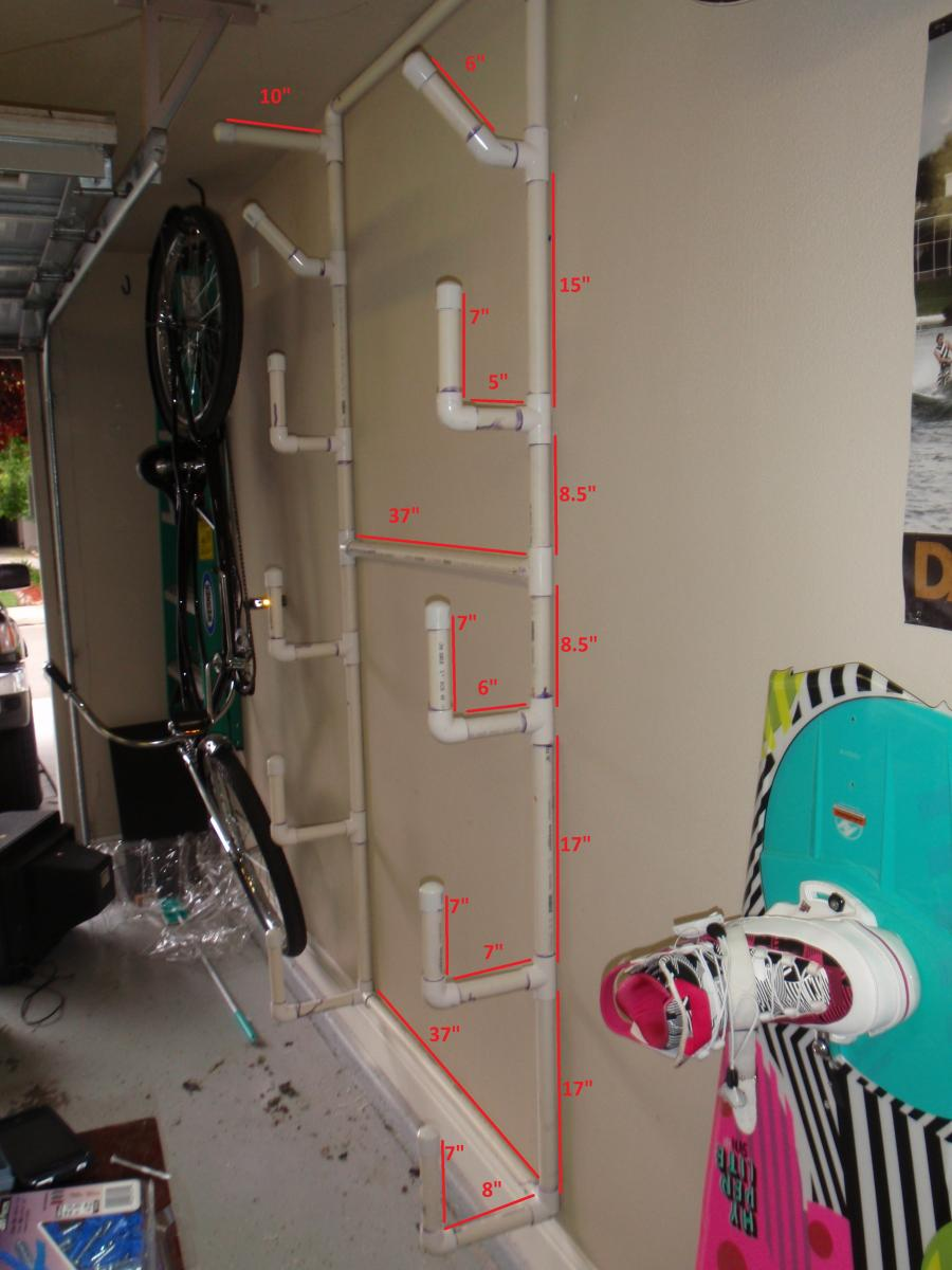 Paddle Board Car Racks >> DIY Garage Board Racks - Boats, Accessories & Tow Vehicles