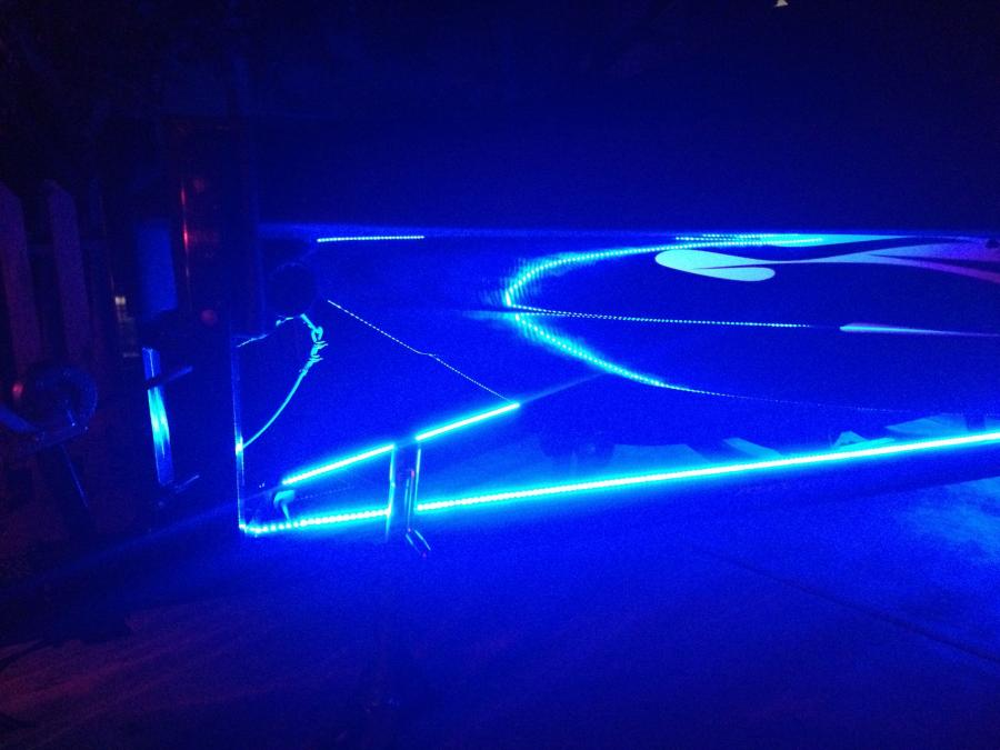 Strip Led Runway Lights For The Trailer Boats