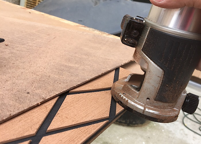 Sea Deck Gator Step Style Flooring On A Budget Boats