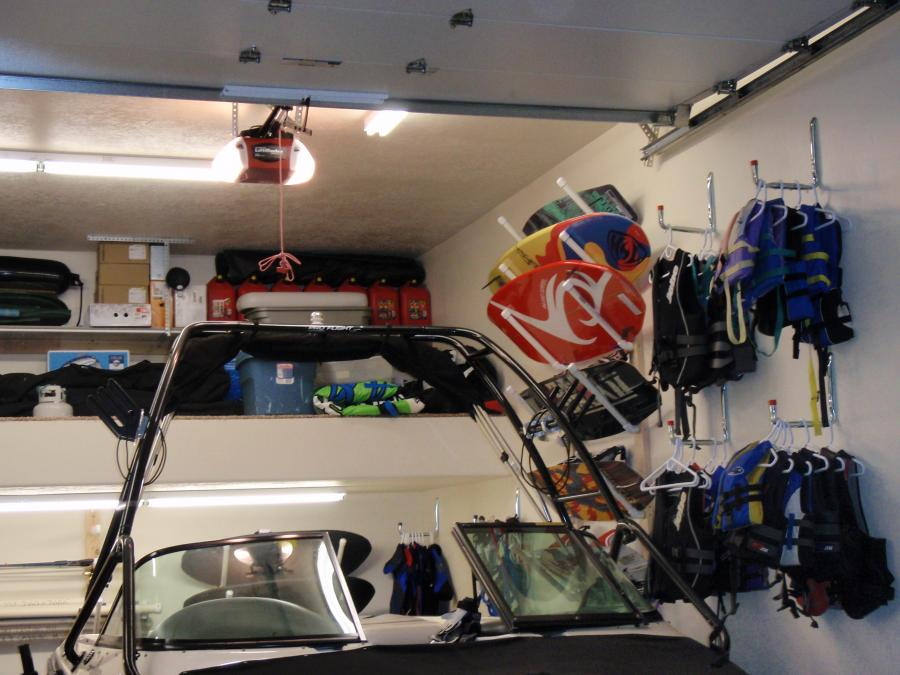 Wakeboard Surfboard Storage Racks For The Garage Wakesurfing