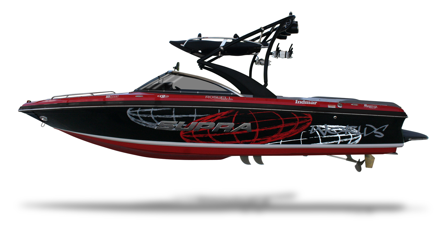 Pictures of Ski Boat Silhouette