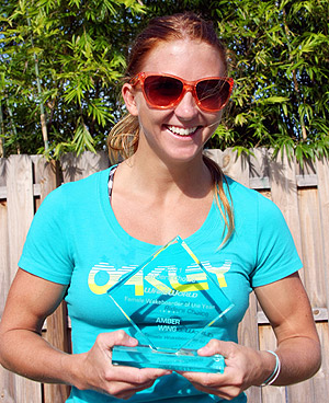 2011 Female Wakeboarder of the Year - Amber Wing