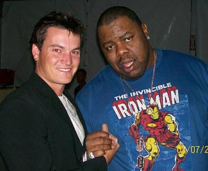 Austin Hair and Biz Markie