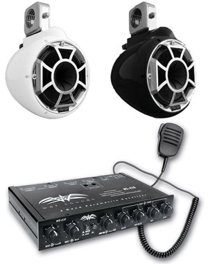Wet Sounds stereo accessories