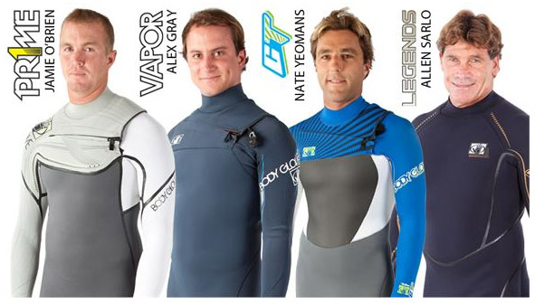 Body Glove's 2012 Fall Wetsuits