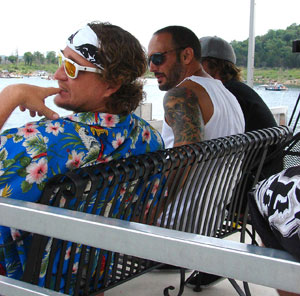 Judges -  Parks Bonifay, Tony  Smith and Brian Grubb