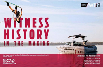 Supra Boats Pro Wakeboard Tour