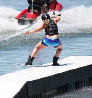 Girls Ride The Wake