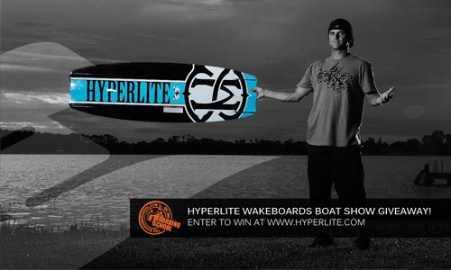 Hyperlite Boat Show Giveaway