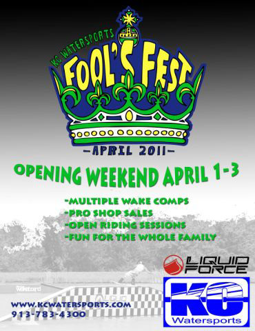 KC Watersport Fools Fest
