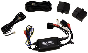 KICKER ZXMRLC Dual-Zone Remote Level Control/Preamp
