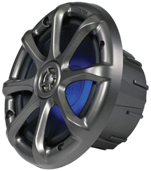 Kicker KM6LED Coaxial Speakers