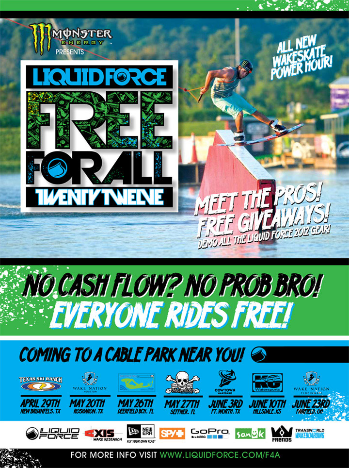 Liquid Force Free For All