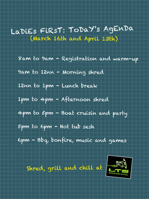 Ladies First Agenda