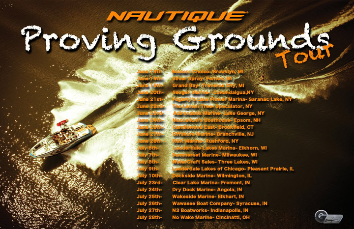 Nautique Proving Grounds Tour