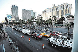 Las Vegas Fed Shutdown Protest