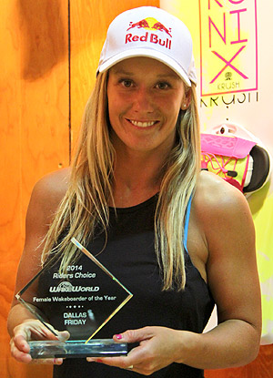 Top Female Wakeboarder - Dallas Friday