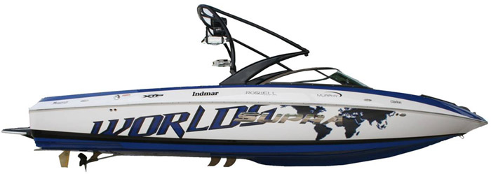 2012 Launch 242 WWA World Wakeboard Special Edition