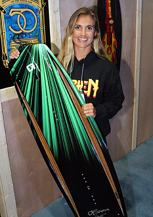 Tarah Mikacich and her 2014 Spark pro model
