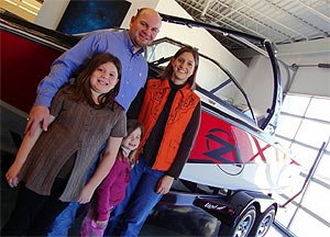 The Cope Family and their new 2010 Tige Z1