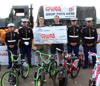 WakeWorld and Toys For Tots