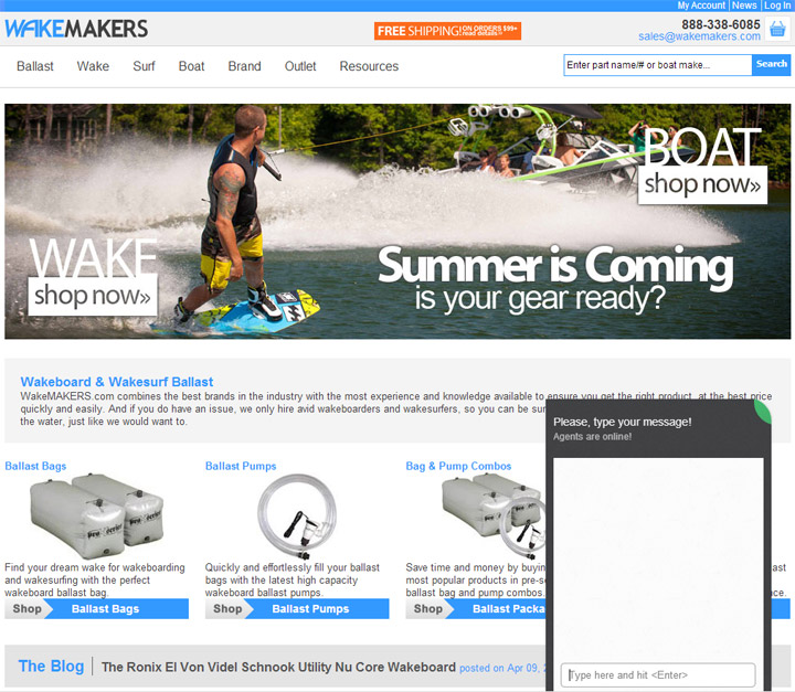 WakeMakers.com Chat