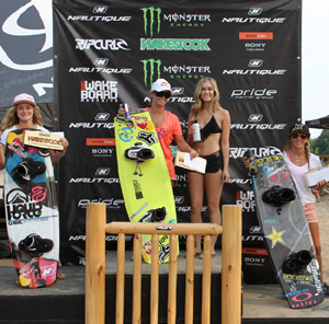 Pro Women Winners - Meagan Ethell (2nd), Dallas Friday (1st), Amber Wing (3rd)