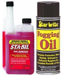 Fuel Stabilizer and Fogging Oil